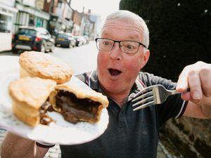As one of his last official acts as mayor of Newport, Peter Scott is hoping to discover a pie that could be designated the 'Newport Pie'