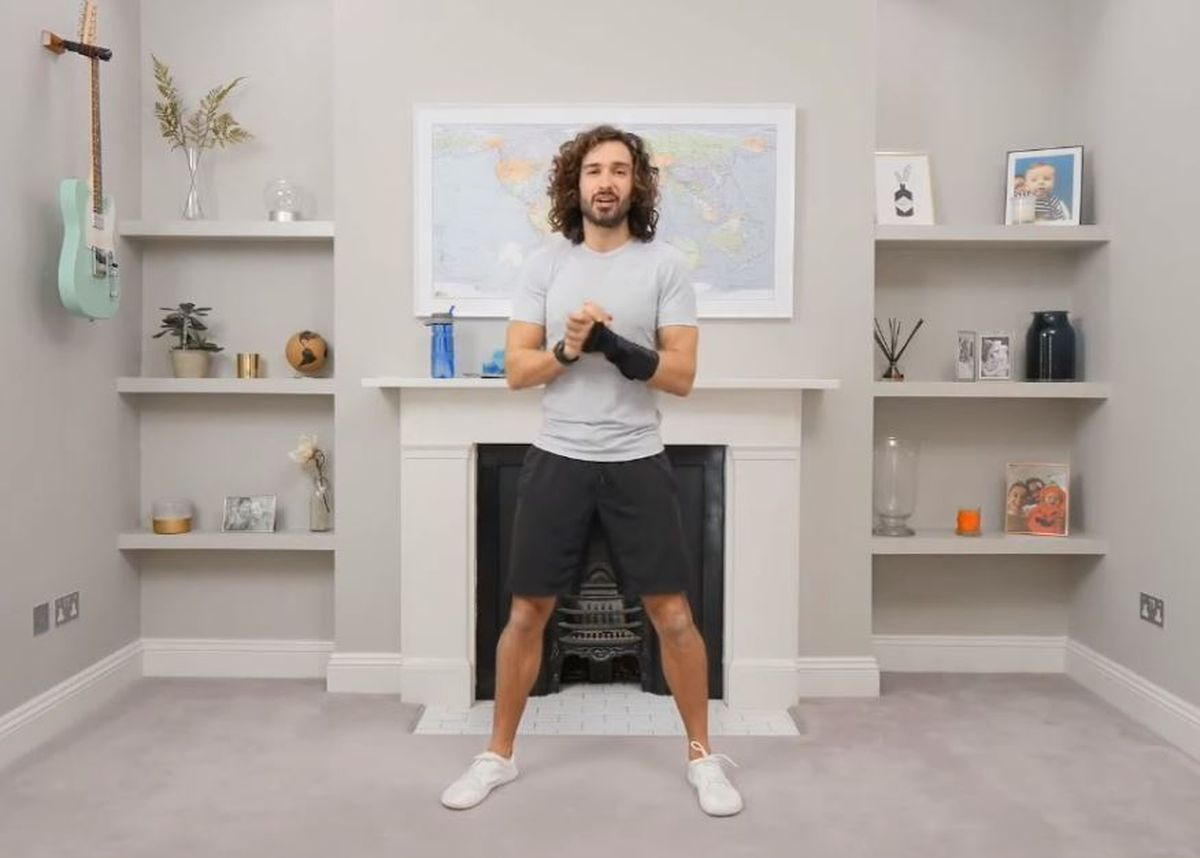 Online fitness guru Joe Wicks has been leading the nation's youngsters with daily PE sessions on his YouTube channel The Body Coach TV. Image: The Body Coach TV/YouTube