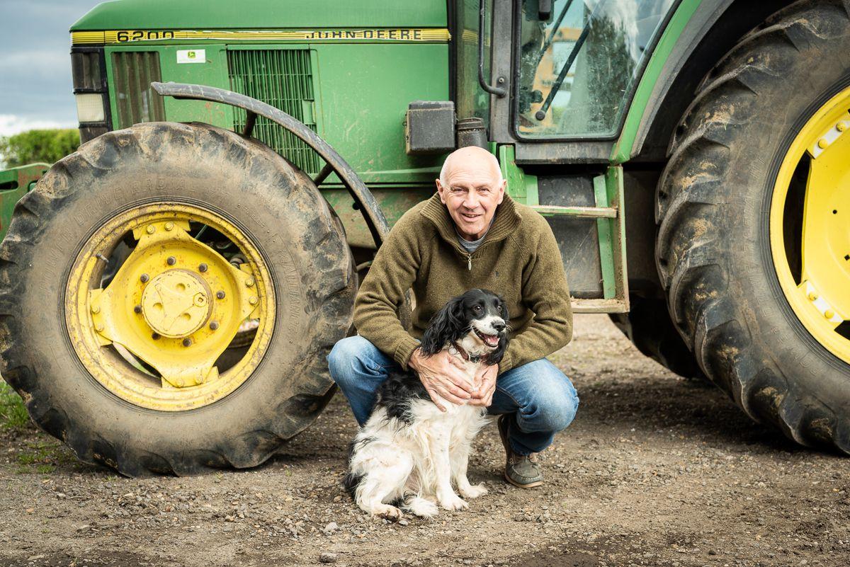Tim Scott is a Countryside Restoration Trust tenant farmer