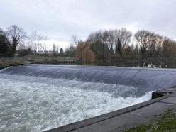 Police up patrols next to Shrewsbury weir after social distancing 'breaches'