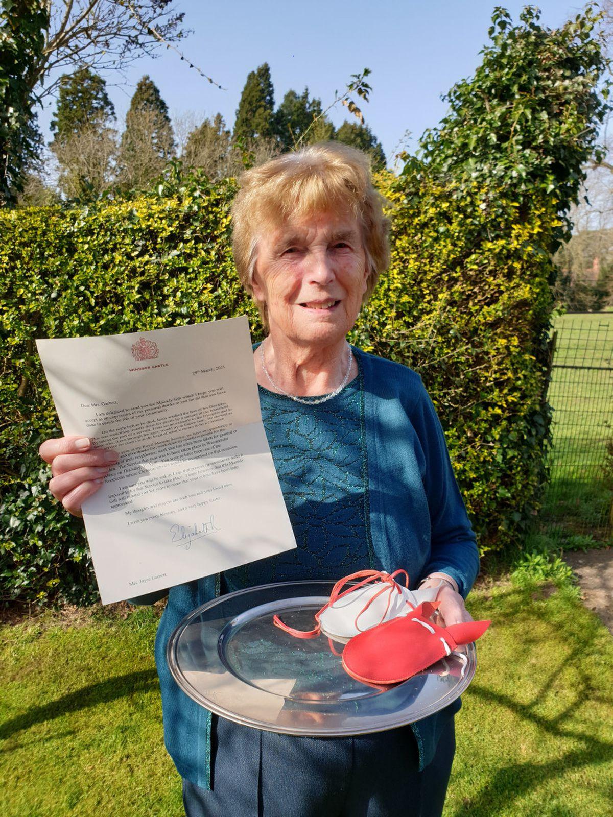 Joyce Garbett said she felt honoured to be part of such a prestigious event
