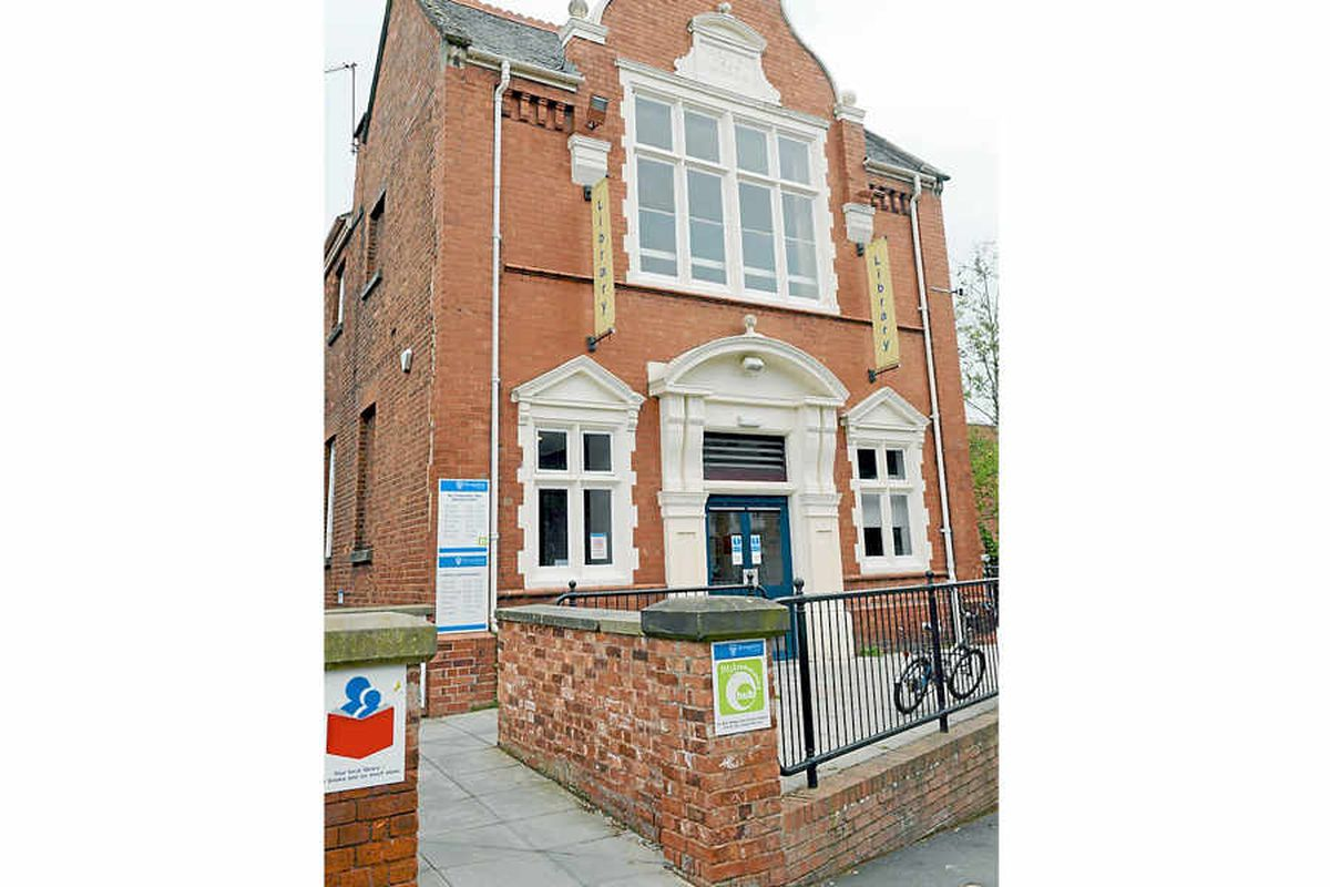 Concerns have been raised about the new community hub at Oswestry Library