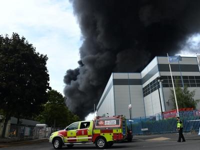 Fire crews tackle 'severe' blaze on Birmingham industrial estate