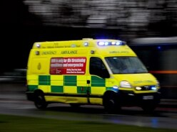 Two treated for injuries after crash on A495 near Oswestry