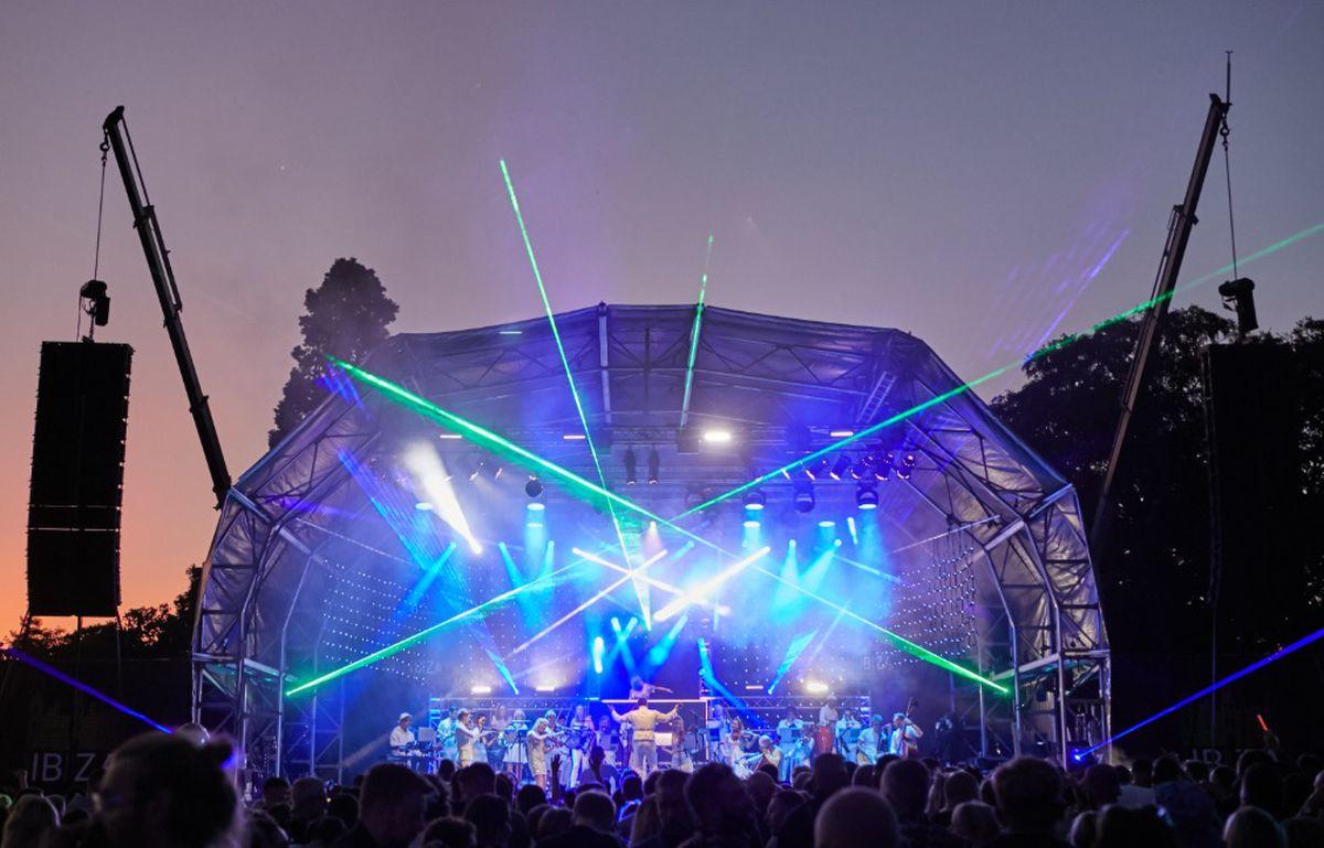 Classic Ibiza at Weston Park. Photo: George Heaton