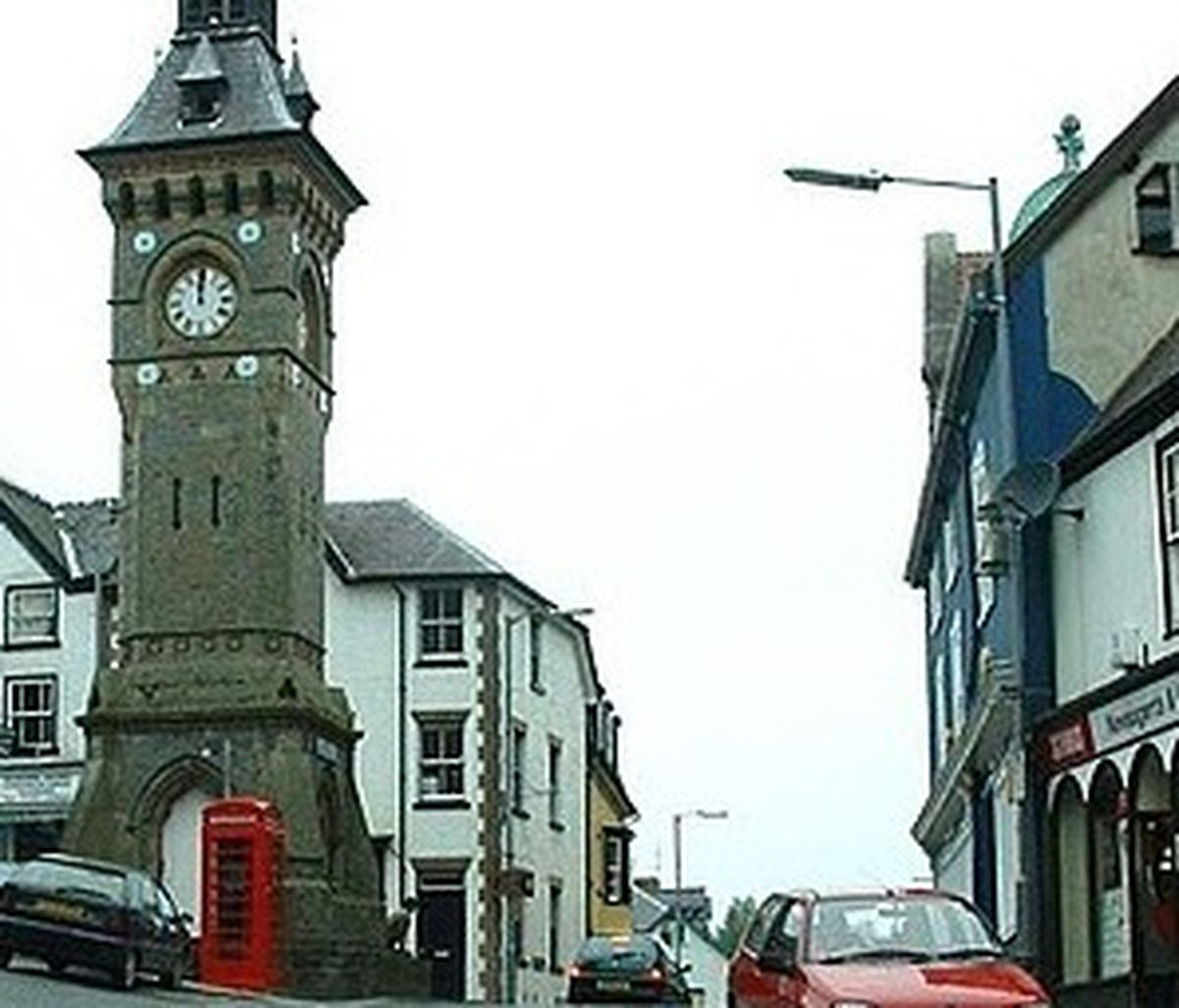 The meeting took place in Knighton.