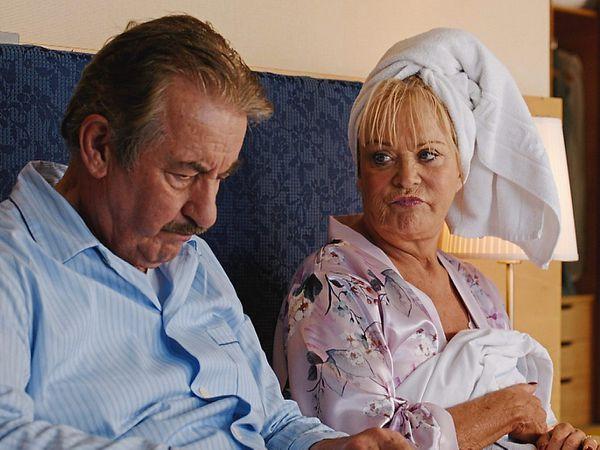 John Challis and Sherrie Hewson in Benidorm