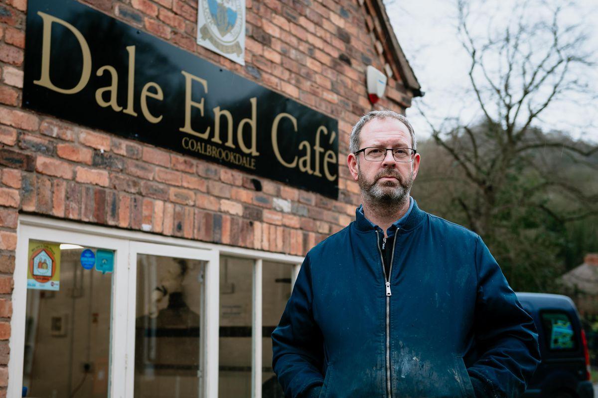 Chris Harrison of the Dale End Café