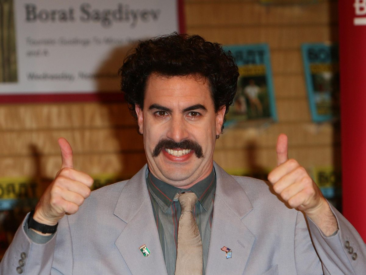 Borat comes to defence of Rudy Giuliani after bedroom ...