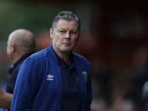 Steve Cotterill the head coach / manager of Shrewsbury Town (AMA)