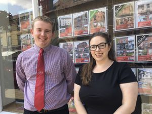 Tom Lewis and Sarah Rees of MMP/NL who are based in Llanidloes.