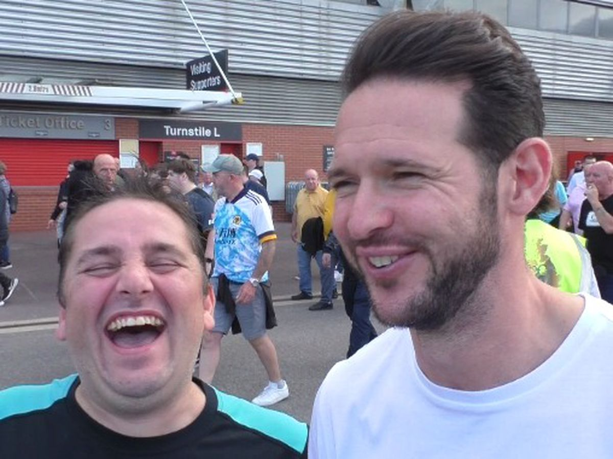 Wolves fans (and Matt Jarvis)