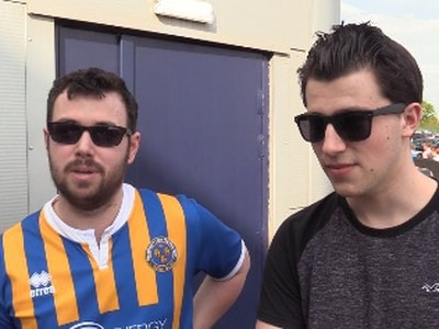 VIDEO: 'The second-half was a disgrace!' Shrewsbury fans furious with defeat to 10-man Oxford - WATCH