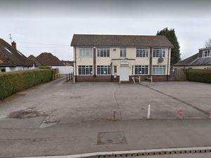 The former Albrighton social club