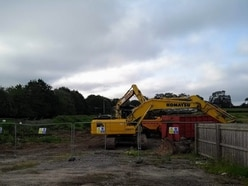 Bulldozers to make way for 60 new apartments in Ellesmere