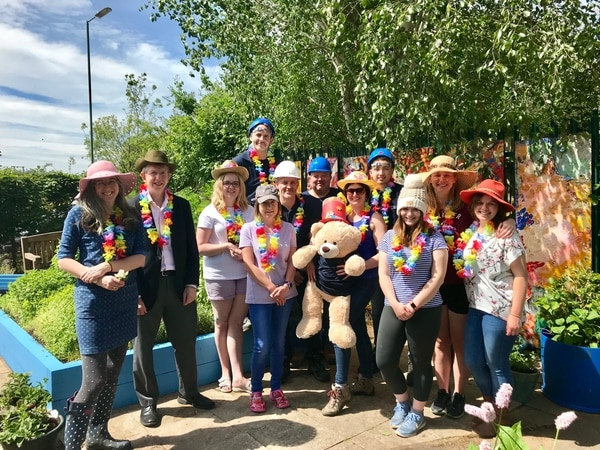 Shrewsbury charity garden given makeover in time for summer