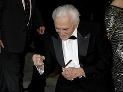 Catherine Zeta-Jones sends message to father-in-law Kirk Douglas as he turns 102