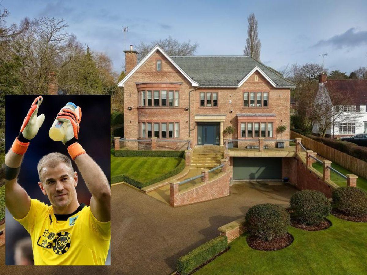 Joe Hart's luxury home is on the market