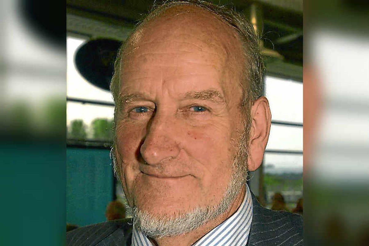 Shropshire Council leader Malcolm Pate