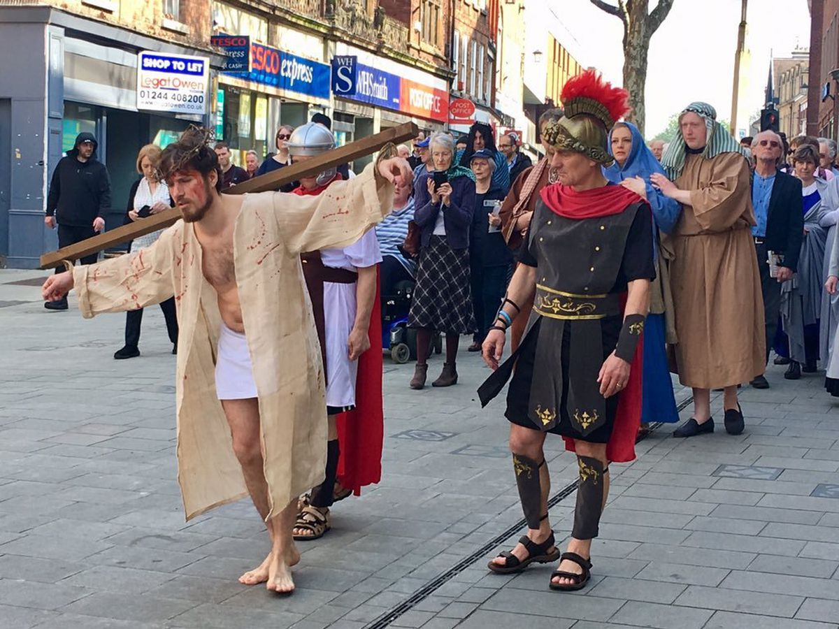 The Passion Play on Pride Hill