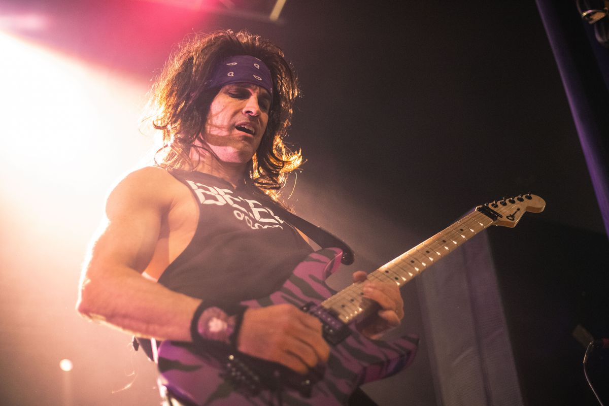 Steel Panther at Birmingham's O2 Academy. Pictures by: Will Morgan