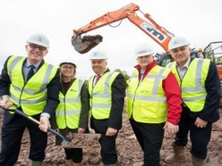 Work begins on new Telford Nuplace development