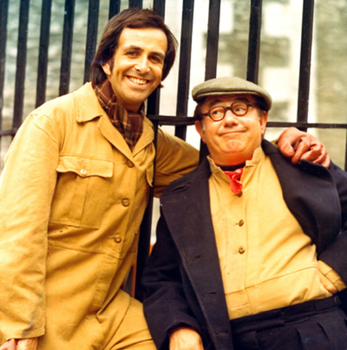 Don Maclean and Peter Glaze formed a popular comedy double act in the 1970s