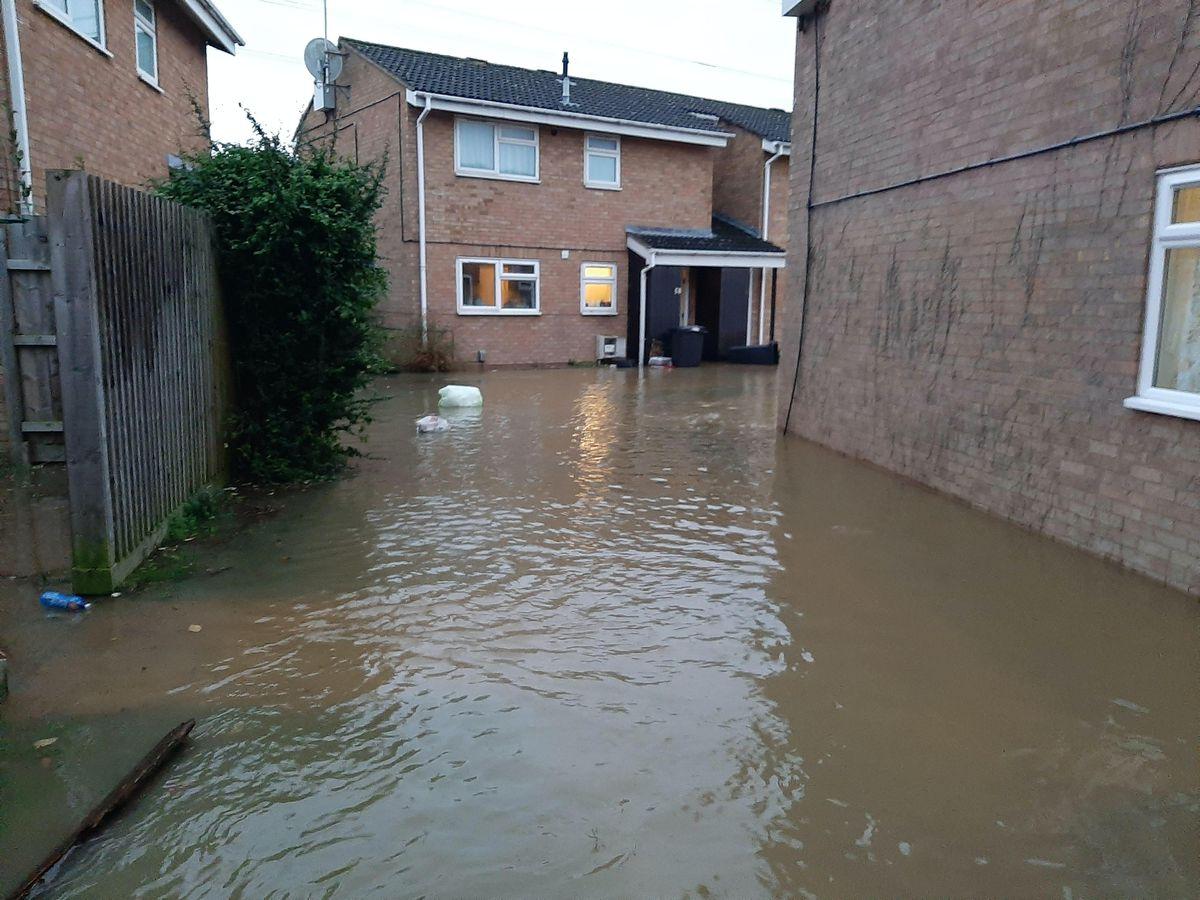 Flooding in Haydon Wick