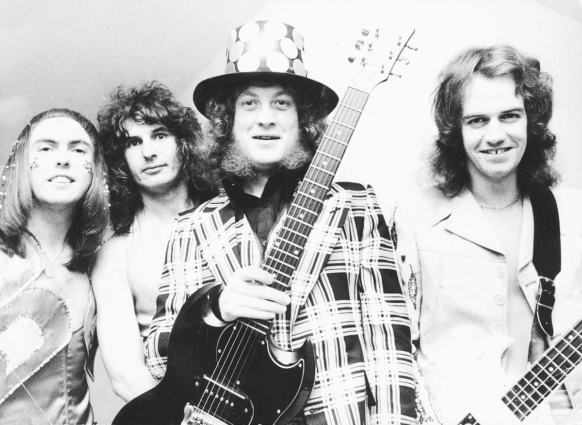 Slade enjoyed a string of hits in the 1970s