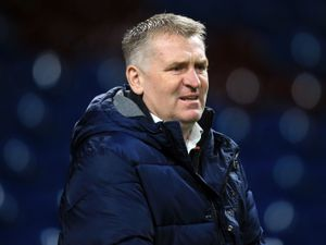 File photo dated 27-01-2021 of Aston Villa manager Dean Smith. Issue date: Friday February 5, 2021. PA Photo. Dean Smith has told his misfiring Aston Villa players they need to raise their game. See PA story SOCCER Villa. Photo credit should read Lindsey Parnaby/PA Wire.