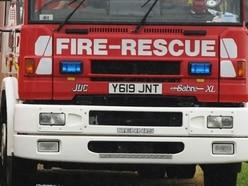 Crews tackle fridge freezer fire in Shrewsbury
