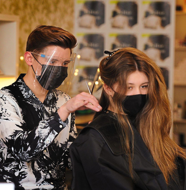 Back in business – JS Hair Salon
