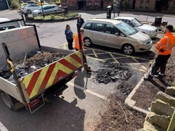 Car severely damaged in fire at Ironbridge car park