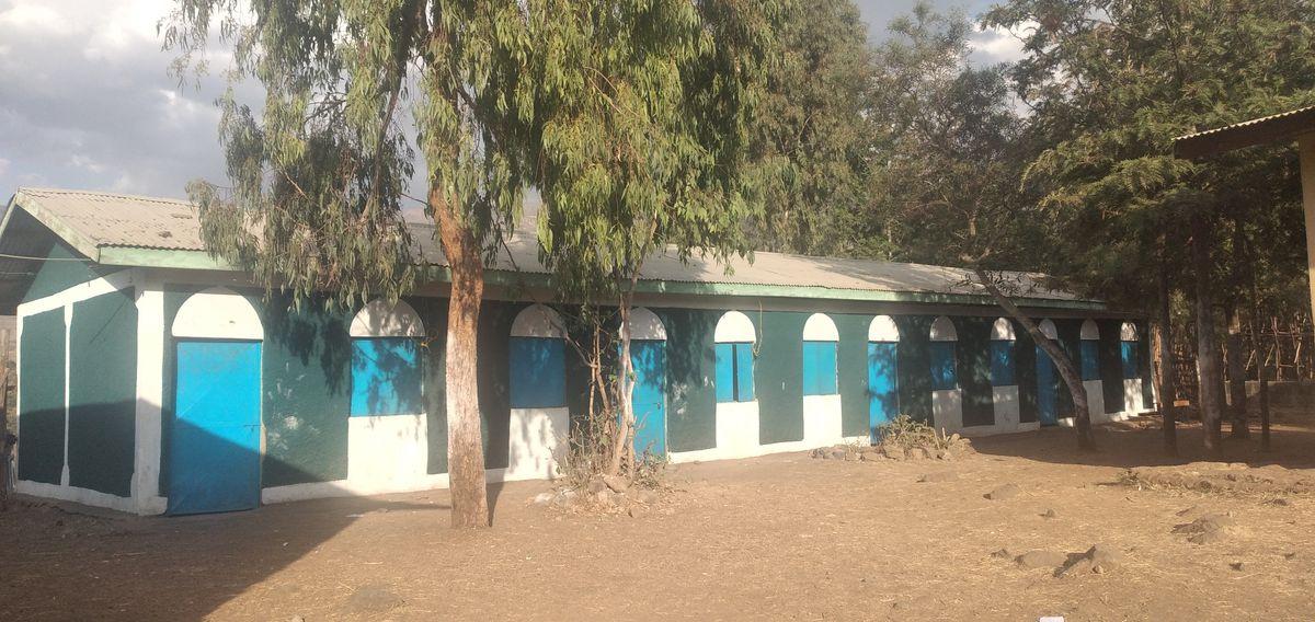 The classroom block