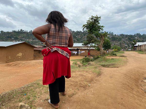 DR Congo sex abuse victim