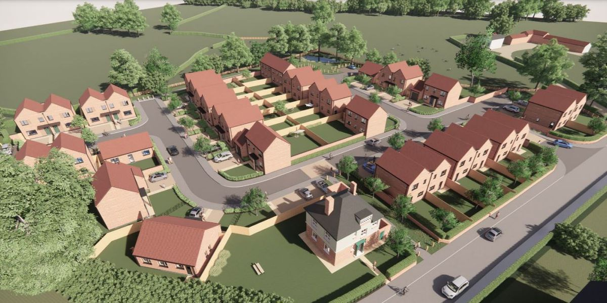 The plans for the Ifton Heath Primary School site in St Martins.