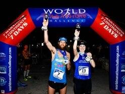 Shropshire hills are the secret to World Marathon Challenge winner's success