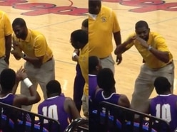 Watch: Deaf basketball coach uses sign language to give team talk