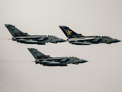 Eyes to the sky as RAF Tornados roar over region in finale tour - VIDEO and PICTURES