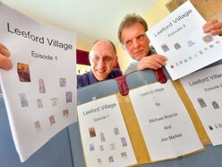 Friends pen series of stories about a fictional village