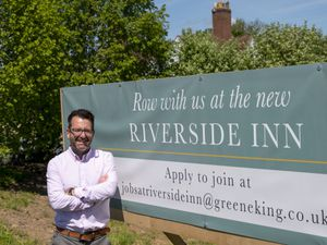 Chris Kendall, general manager of The Riverside Inn, Cound