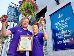 Pub pulls in award following major refurbishment