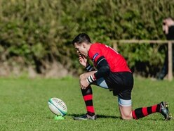 Will Sparrow stars for high-flying Ludlow Rugby Club