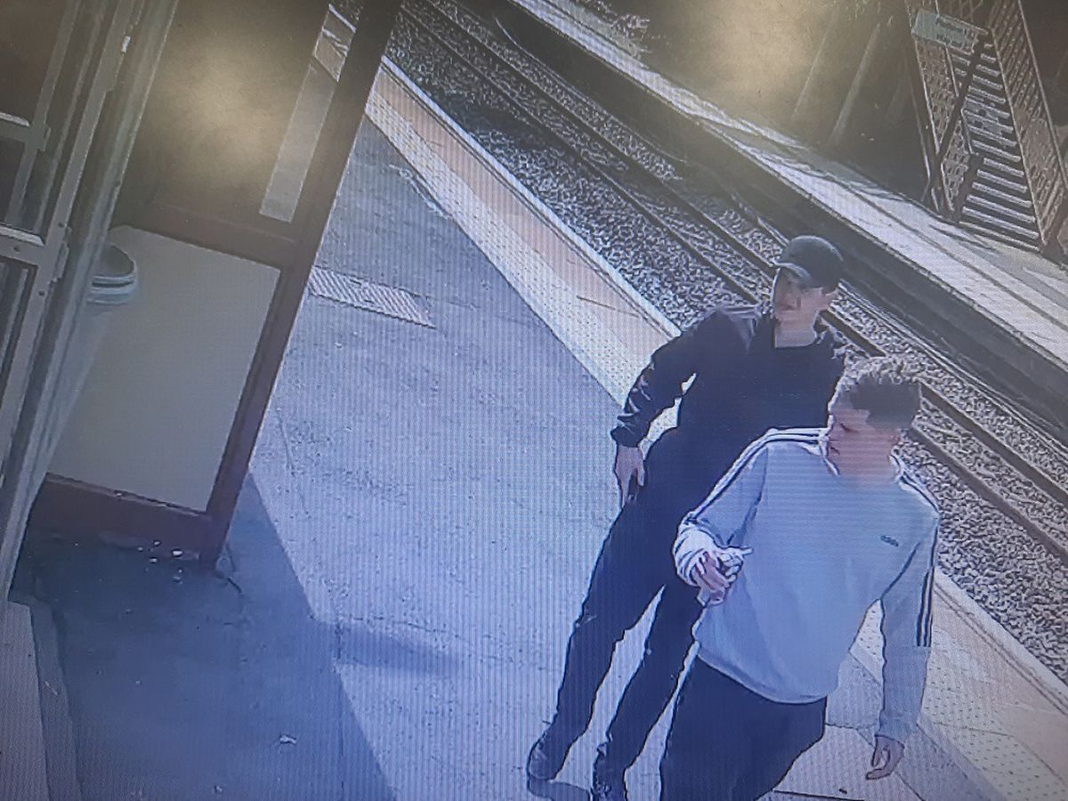 Police are appealing for witnesses and help to identify two men captured on CCTV following a robbery in Oakengates