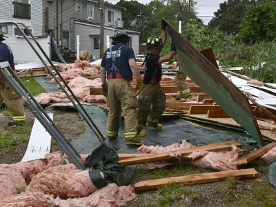 Tornado hits Cape Cod as thunderstorms break the heat