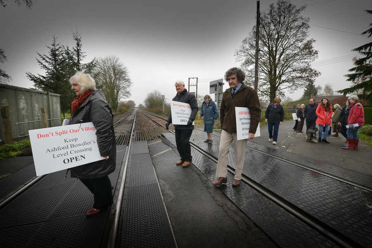 Anger over rail plan that 'will cut Shropshire village in half'