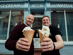 'Sundae shopping' at Ellesmere church with new ice cream parlour