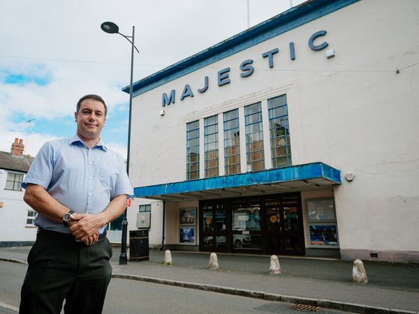 LAST COPYRIGHT SHROPSHIRE STAR JAMIE RICKETTS 08/09/2020 - Bridgnorth's only cinema - Majestic Cinema - reopened last week after coming close to having to shut due to the pandemic. Manager James Frizzell says even up until a few weeks ago he was worried about the cinema's future, with its counterpart in Kidderminster being permanently closed down. The cinema reopened on the day of Tenet and James said he is now hopeful it will survive..