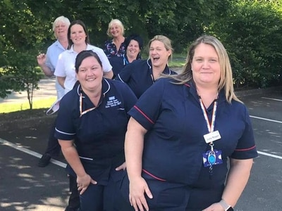 Telford care homes grateful for support from team