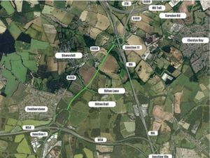The road will link the M54 with the M6
